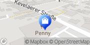 Karte PENNY-Markt Discounter Weeze, Deutschland