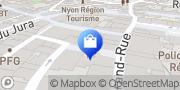 Carte de Sweetch Nyon, Suisse