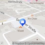 Karte Kauf-Center Holm Kevelaer, Deutschland