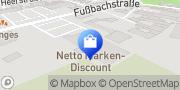 Karte Netto Filiale Wegberg, Deutschland