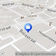 Kaart Modehuis Horst Van Geel Ter Doetinchem, Nederland