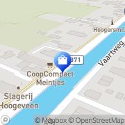 Kaart CoopCompact Meintjes Hoogersmilde, Nederland