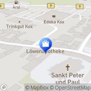 Karte Löwen-Apotheke Aldekerk am Edeka-Center Kerken, Deutschland