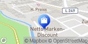 Karte Netto Filiale Düren, Deutschland