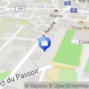Carte de Jott-Sports Cossonay, Suisse
