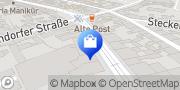 Karte Netto Filiale Krefeld, Deutschland