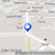 Kaart Kijkshop BV Assen, Nederland