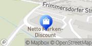 Karte Netto Filiale Grevenbroich, Deutschland