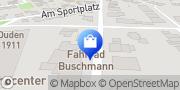 Karte Fahrrad Buschmann Wesel, Deutschland