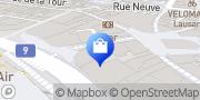 Carte de Bang & Olufsen Lausanne, Suisse