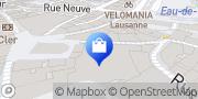 Carte de MANOR Lausanne Lausanne, Suisse