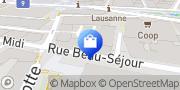 Carte de Lista Office Vente SA, Lausanne, Suisse