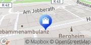 Karte Vodafone Shop Bergheim, Deutschland