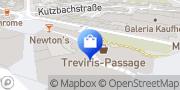 Karte Netto Filiale Trier, Deutschland