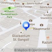 Karte L'OCCITANE EN PROVENCE Trier, Deutschland