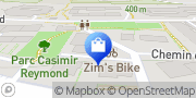 Carte de Zim bike Lutry, Suisse