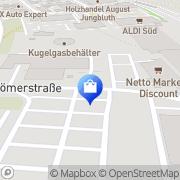 Karte HIT Markt Neuss, Deutschland