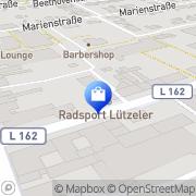 Karte Radsport Center Lützeler GmbH & Co KG Kerpen, Deutschland