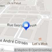 Carte de Mobilier de France Fréjus, France