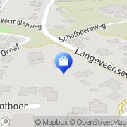 Kaart Vintage Kledingboetiek Geesteren, Nederland