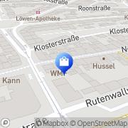 Karte WMF Dinslaken, Deutschland