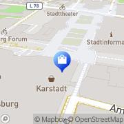 Karte WMF Duisburg, Deutschland