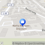 Karte Netto Filiale Duisburg, Deutschland