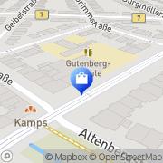 Karte B2 optic GmbH - Ihr Optiker in Düsseldorf-Grafenberg Düsseldorf, Deutschland