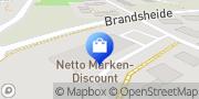 Karte Netto Filiale Ratingen, Deutschland