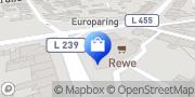 Karte REWE City Ratingen, Deutschland