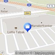 Karte Extra Köln, Deutschland