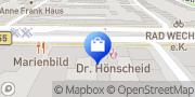 Karte Braunsfelder Apotheke Köln, Deutschland