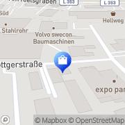 Karte Erkeling GmbH Monheim, Deutschland
