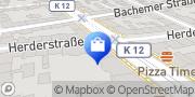 Karte Raumausstattung & Interior Design Ariana Nitschke - Köln Köln, Deutschland