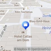 Karte Hof-Apotheke Köln, Deutschland