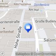 Karte WMF Köln, Deutschland