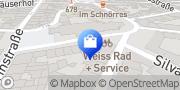 Karte Weiss Rad + Service Manfred Weiss Köln, Deutschland