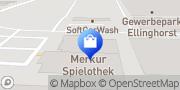 Karte Netto Filiale Gladbeck, Deutschland