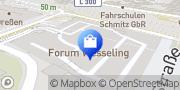 Karte Apollo-Optik Wesseling, Deutschland