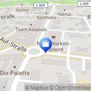 Karte Netto Filiale Dorsten, Deutschland
