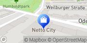 Karte Netto City Filiale Köln, Deutschland