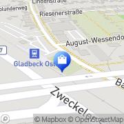 Karte Krankentransport Gladbeck, Deutschland