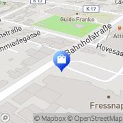 Karte Netto Filiale Ahaus, Deutschland