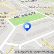Karte Udo Magiera GmbH Essen, Deutschland