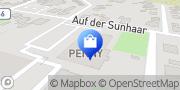 Karte PENNY-Markt Discounter Gronau, Deutschland
