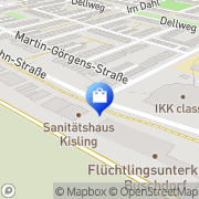 Karte AKI-Bau GmbH Bonn, Deutschland
