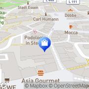 Karte Hertie Steele Essen, Deutschland