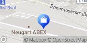 Karte ABEX NEUGART GEBÄUDETECHNIK Bonn, Deutschland