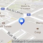Carte de Primadonna Collection Martigny-Ville, Suisse