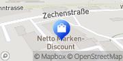 Karte Netto Filiale Marl, Deutschland